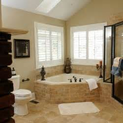 corner tub bathroom ideas corner whirlpool tub design ideas pictures remodel and