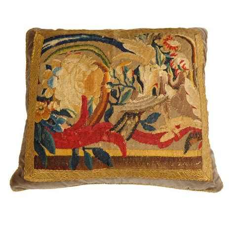 Tapestry Pillows by Antique Tapestry Pillow At 1stdibs