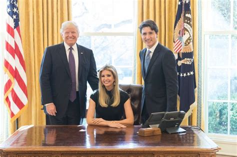 trump oval office desk people are upset over this inappropriate photo of ivanka
