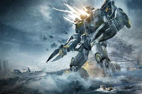 film robot vs monster hollywood friday its robots vs sea monsters in pacific rim