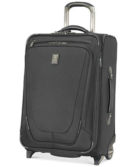 charging for carry on bags travelpro crew 11 22 quot carry on expandable rolling suitcase with usb charging port luggage