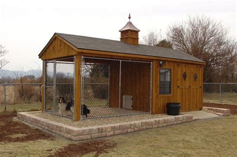 dog shed house 10 x 10 dog kennel as a chicken run 20 shed kennel combo chicken coop pinterest