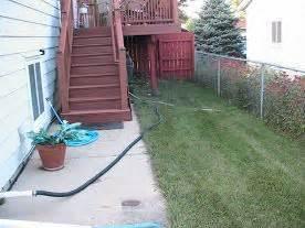 saving sump pump discharge water   rain barrel sump