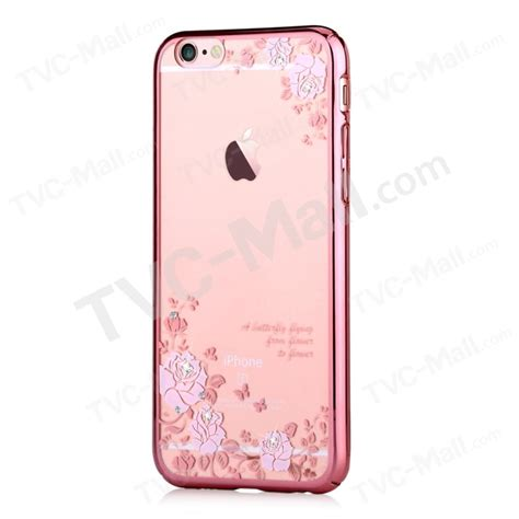 Buterfly Hardshell For Iphone 6 Plus devia swarovski plated for iphone 6 plus 6s plus pretty roses and