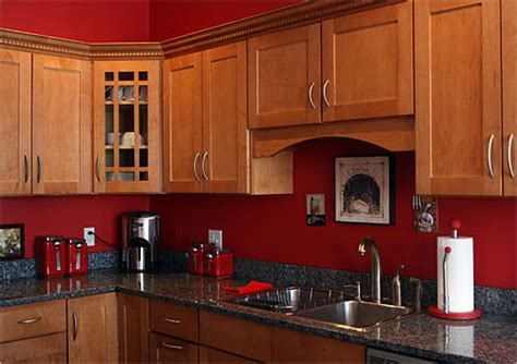 red wall kitchen ideas tile splashback ideas pictures red kitchen paint
