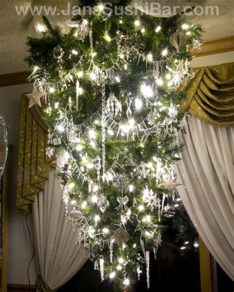 hanging upside down christmas trees reinventing space 46 best images about upside down christmas trees on