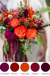 fall wedding colors 25 best ideas about fall wedding colors on