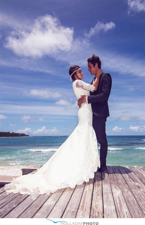 hawaii wedding max mona laie hawaii hawaii wedding