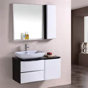 Our wash basin cabinet is in black and white colur in modern design