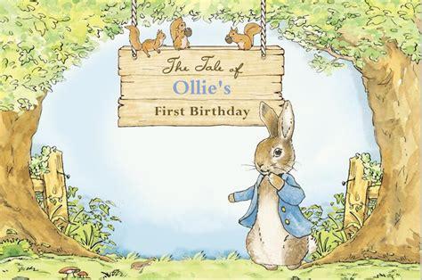 xft happy birthday tree path easter peter rabbit wood