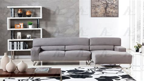 modern microfiber sectional sofa gray microfiber sectional sofa ae15 fabric sectional sofas