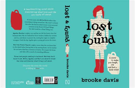 lost and found a novel lost found australian book designers association