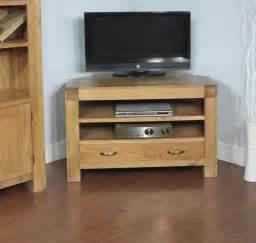 furniture modern white corner tv santana oak corner tv cabinet