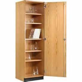 Wood Storage Cabinet With Doors Cabinets Wood Wood Storage Cabinet Single Door Globalindustrial