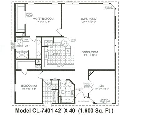 1600 Sq Foot House Plans 1000 Images About Floor Plans On Manufactured Homes Floor Plans Square And