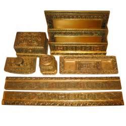 Decorative Desk Accessories Sets Tiffany Studios Venetian Desk Set Original 7 Pieces At
