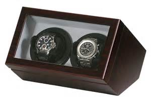 Japanese Style Home Decor belocia signature products double watch winder burl wood