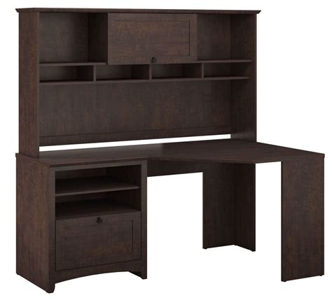 Cherry Corner Desk With Hutch Buena Vista Cherry Corner Desk With Hutch From Bush Buv008msc Coleman Furniture