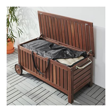 ikea outdoor storage bench 196 pplar 214 toster 214 bench with storage bag outdoor brown