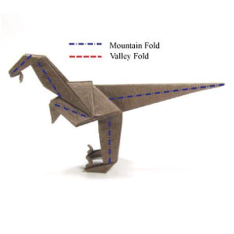 Origami Velociraptor - how to make a simple origami velociraptor page 13