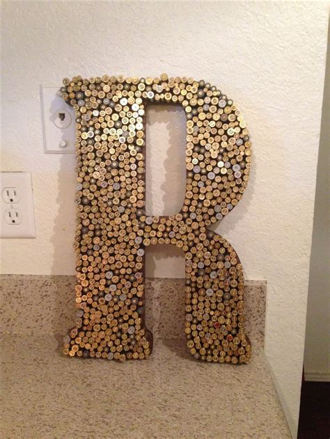 hot stuff 4 letters bullet recycling crafting with wooden letters hot glue