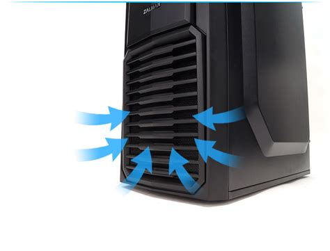 Zalman Zm Mfc2 Keeps You Informed About Your Pcs Temperature And Looks Cool by Zalman Zm T4 Atx Mini Tower Pc End 7 3 2015 12 15 Pm