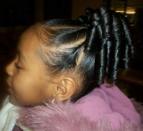 blqck hair styles poney tails and flat twist flat twist ponytail and ringlets cute tween style