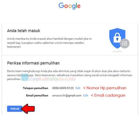 cara membuat akun google dan kata sandi cara mengganti sandi akun google gmail yang lupa lewat no hp