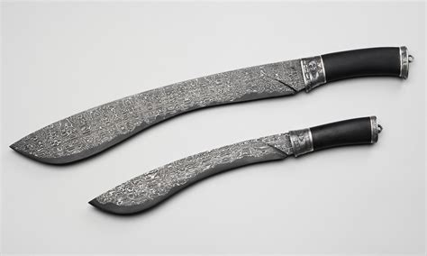 weapon knife knife machete weapon pattern damascus steel hd wallpaper