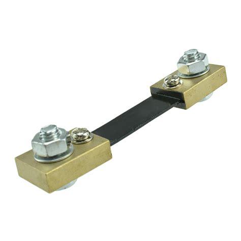 shunt resistor vs current transformer 100a 75mv dc current shunt resistor for digital meter analog meter fl 2 mo ebay