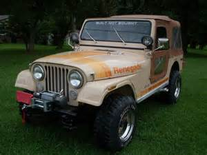 1980 Jeep Renegade Sell Used 1980 Jeep Cj7 Renegade V8 Auto Low In