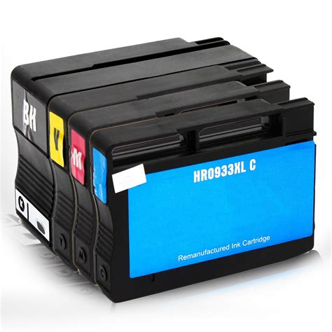 Original Cartridge Hp Hp 933xl Cmy Sold Individually 4 pack hp 932xl 933xl new ink cartridges for officejet 6100 6600 6700 7110 7610 ebay