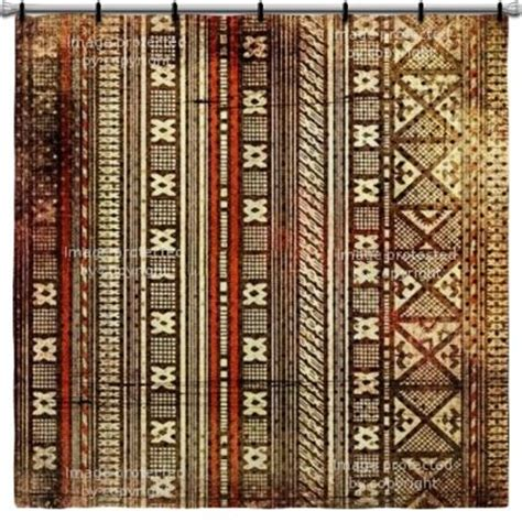 african curtains african pattern shower curtain art pinterest