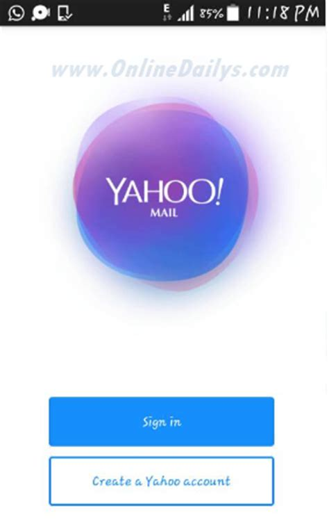 mobile sign up yahoo mail mobile sign up create a new account free