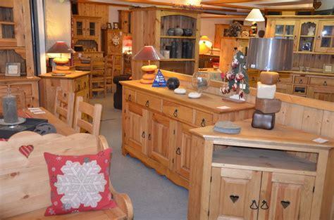table rabattable cuisine meubles montagne pin