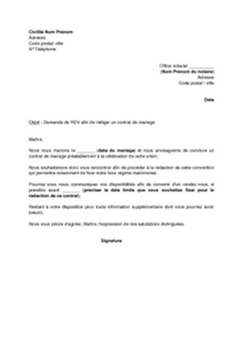 Exemple De Lettre De Remerciement à Un Notaire Exemple Gratuit De Lettre 224 Notaire R 233 Daction Un Contrat Mariage