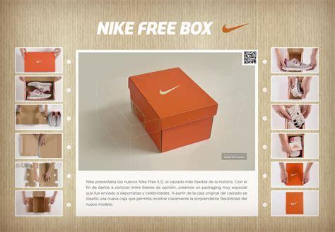 Nike Shoe Rack by Nike Free Box A Shoebox 1 3 The Size Of The Original