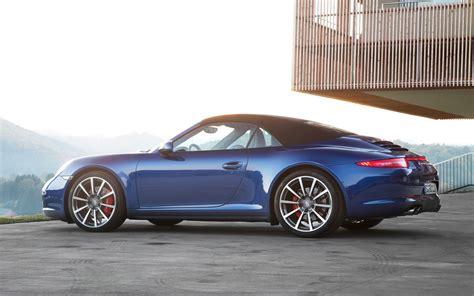 porsche carrera 911 4s 2013 porsche 911 carrera 4 and 4s first drive motor trend