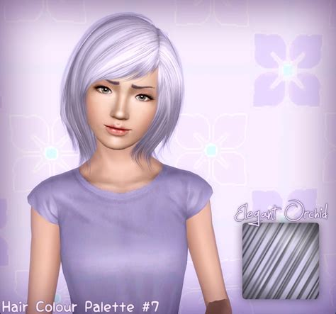 hair color to download for sims 3 my sims 3 blog raon 38 retextures and hair color palet