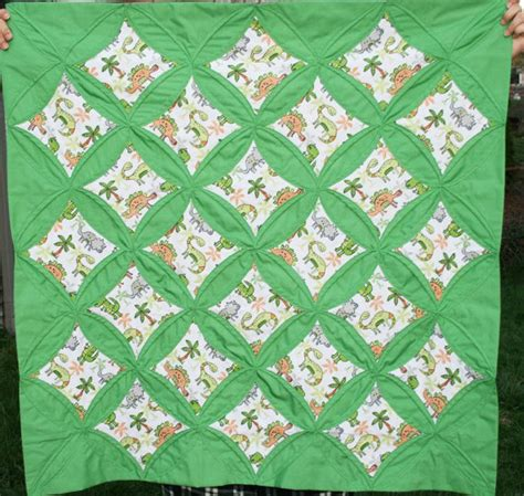 Dinosaur Quilting Fabric by Baby Quilt Dinosaur Fabric Cathedral Design 15