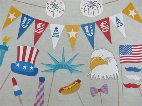 printable patriotic photo booth props 17 best images about 4th of july ideas memorial day on