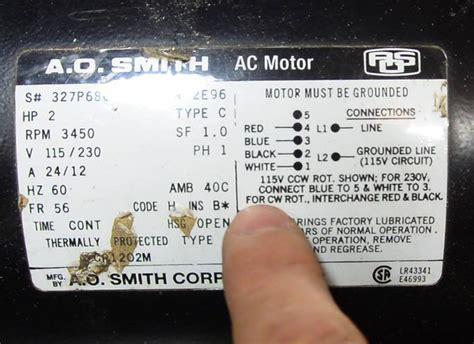 reversing capacitor run motor reversing single phase induction motors
