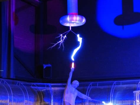 Tesla Coil Experiments Flash Tesla Coil Experiment Free Stock Photos In Jpeg