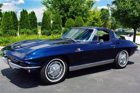vintage corvette blue 1963 daytona blue corvette 3 475 units cool cars n