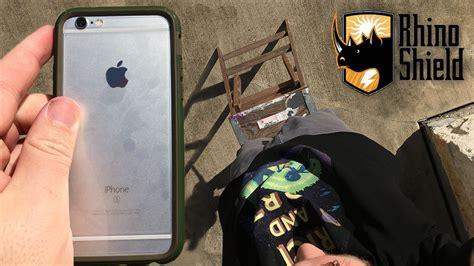 iphone 6s drop test w rhino shield crash guard
