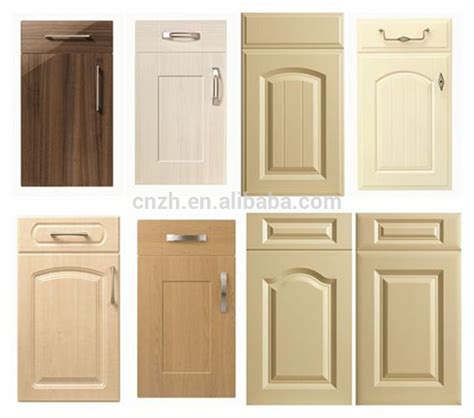cost of new kitchen cabinet doors cheap mdf pvc kitchen cabinet door price buy kitchen