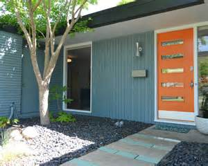 Midcentury Modern Mailbox - brick exterior home design ideas pictures remodel and decor