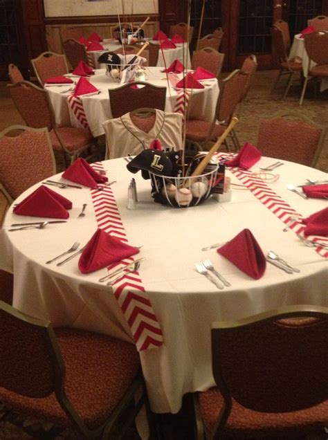 baseball themed decorating ideas baseball tablecloth work stuff baseball