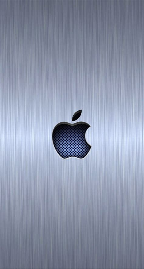 wallpaper iphone 6 silver apple logo cool blue silver wallpaper sc iphone6
