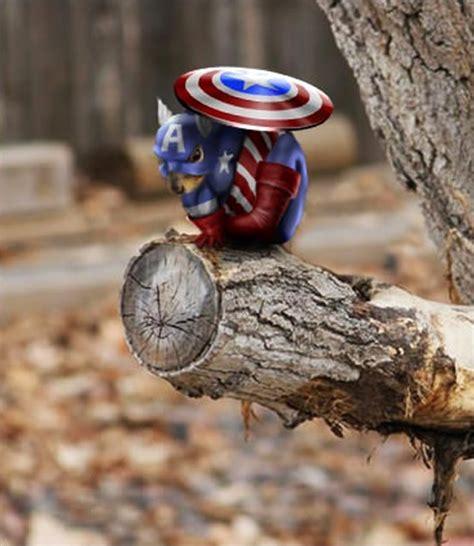 scogliattolo volante batman squirrel iron captain america thor photoshop